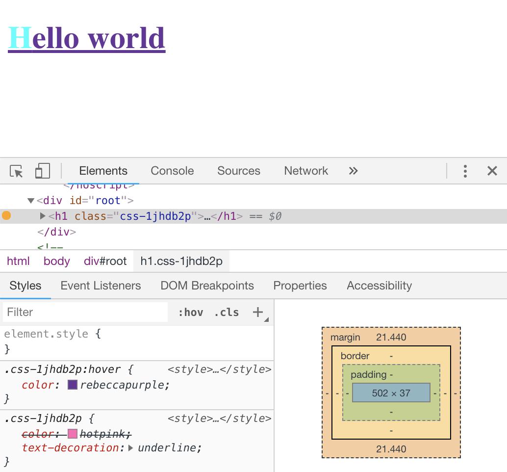 Comprendre le CSS in JS par l'exemple   Putain de code